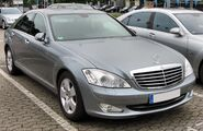 Mercedes S 320 CDI 20090808 front