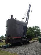 A 1940s Smith Of Rodley Steam Railway Crane