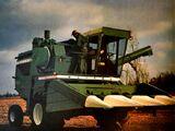 Oliver 7800 Harvest-King combine