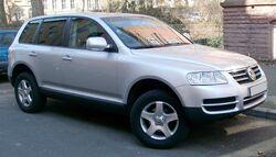 Pre-facelift first-generation Volkswagen Touareg (Europe)
