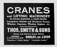 A 1910 Thomas Smith Of Rodley company catalogue