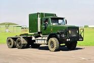 A 1980s Scammell S24 6X6 TDI Haulage Tractor