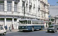 Valparaíso Pullman trolleybus 715