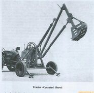 A 1950s Whitlock Dinkum Digger for any Farmtractor