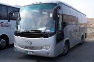 HIGER bus in Jordan