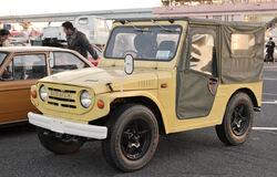 Suzuki Jimny LJ10 (aftermarket wheels