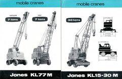 JONES Cranes of the 1980s