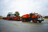 A 1980s Scammel S24 6X6 TDI ALE Haulage Company Outfit
