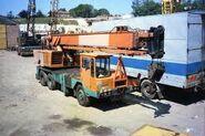 ALLEN-GROVE H2564 Cranetruck 6X4 Diesel in daily work