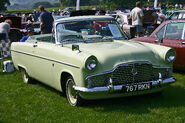 Ford Zephyr 206E Convertible front