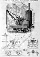 A 1880s Smith Of Rodley Steam Railway Locomotive Crane