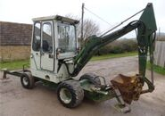 A 1990s Smalley WX425 Excavator Diesel
