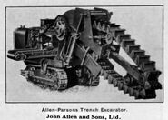 A 1930s Allen Of Oxford Waveless Excavator-Trencher