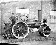 A 1930s Alen of Oxford Steam Tractor
