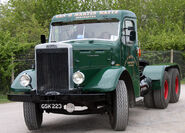 A 1950s LEYLAND Super Hippo Hualage Tractor Diesel 6X4