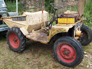 A 1960s Liner Roughrider 2WD Sitedumper Petrol engined