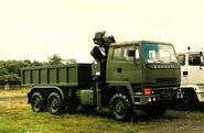 A 1980s Scammell S26 6X6 TDI Crane Lorry