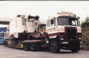 A 1970s Scammell Amazon TD Haulage Tractor
