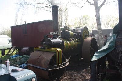 Green no. 2054 RR - RF 3309 At Klondyke Mill 09 - IMG 7250.jpg