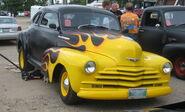 '41 chevy flame job