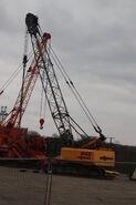 Sennebogen 640 crane - IMG 8554