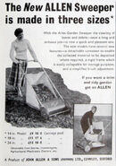 A 1950s Allen Of Oxford Gardensweeper