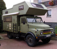 Hanomag AL28 camper (expedition)