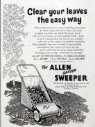 A 1950s Allen Of Oxford original Gardensweeper