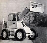 A 1966 weatherill L50 loader