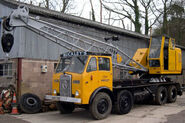 A 1960s Smith of Rodley Cranetruck on Atkinson carrier
