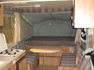 Jayco tent camper pop-out bedroom