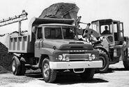 A 1970s LEYLAND Super Comet Dumptruck