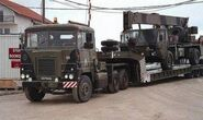 A 1970s Scammell Crusader Military Vehicle Transporter