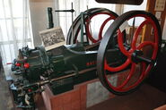 Gas Engine in the Gas Museum - geograph.org.uk - 2120293