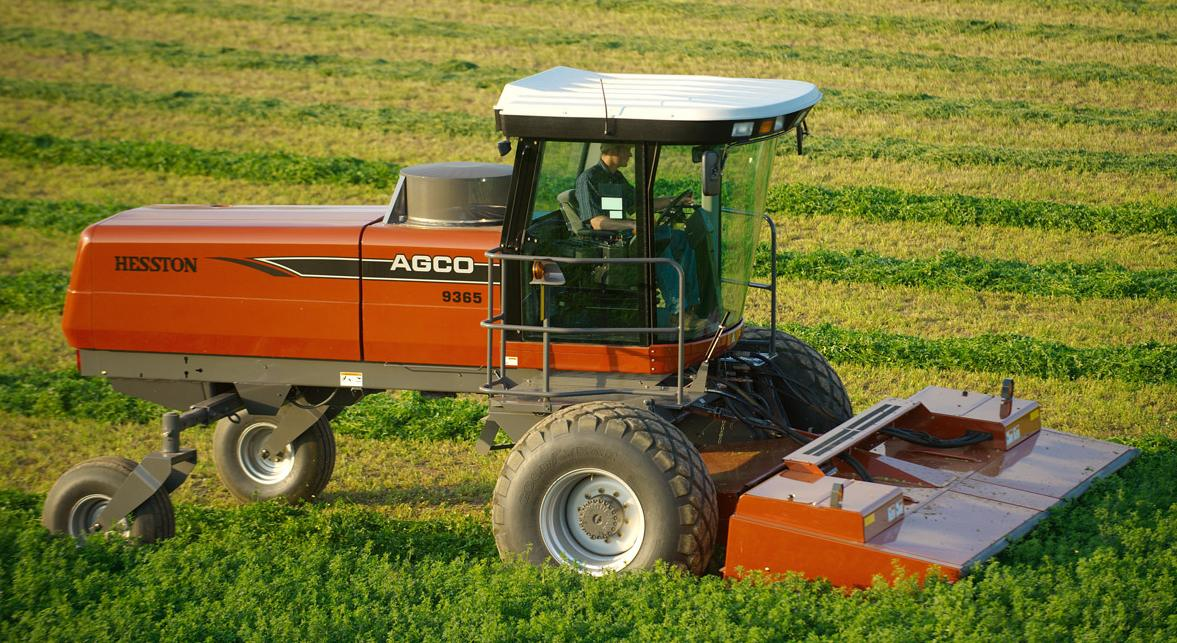 AGCO Hesston 9635