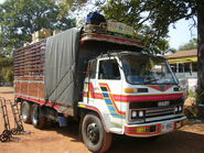Isuzu Commercial Truck.front-Thai