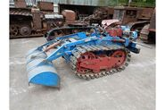 A 1960s Whitlock WR8 Crawler Tractor Diesel