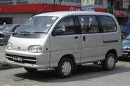 Perodua Rusa (first generation, first facelift) (front), Kajang