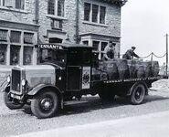 A 1930s LEYLAND Bull Truck Diesel
