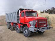 A 1980s Scammell S24 Dumptruck 8X4 Diesel