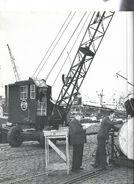 A 1940s NEAL QM Mobilecrane 5T