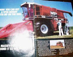 Massey Ferguson White 9720 ad