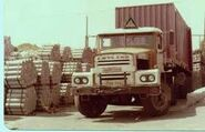 A 1960s LEYLAND Chieftain Haulage Tractor Diesel