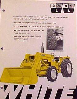 White 4-78L Industrial MFWD w loader ad - 1970.jpg