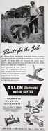 A 1950s Allen Of Oxford Model Range brochure
