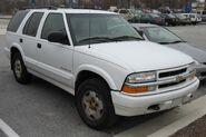 99-02 Chevrolet Blazer TrailBlazer
