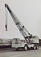 A 1960s Allen T10 Cranetruck 6X4 Diesel 15T