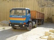 A 1970s LEYLAND Cruiser Diesel Haulage Tractor