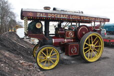 Foster no 14431 showmans tractor (FE3217) at GCR 2013 IMG 8476