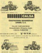 A 1980 CALSA Loader Model Range